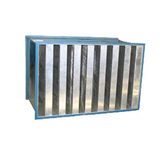 折板式消声器